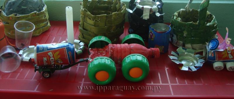 Medios De Transporte Con Materiales Reciclables | MEJOR CONJUNTO DE
