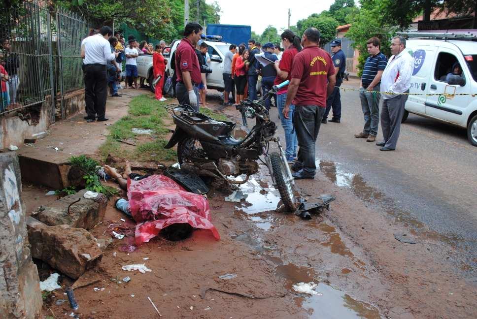 Tayazuape, grave accidente con derivación fatal