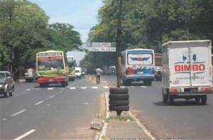 En un primer tramo el metrobus sería implementado entre Asunción y San Lorenzo