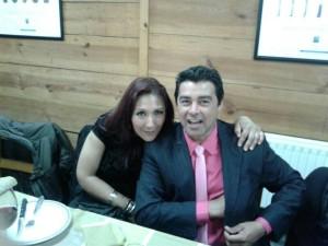 Elizabeth Parra y Erico Martinez