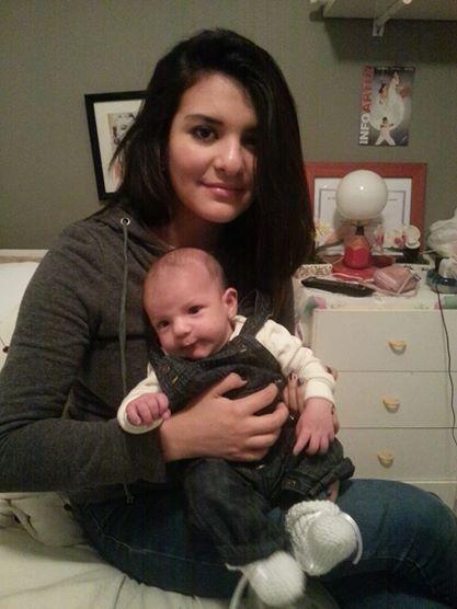 Camila con hijo su hijo Marcos