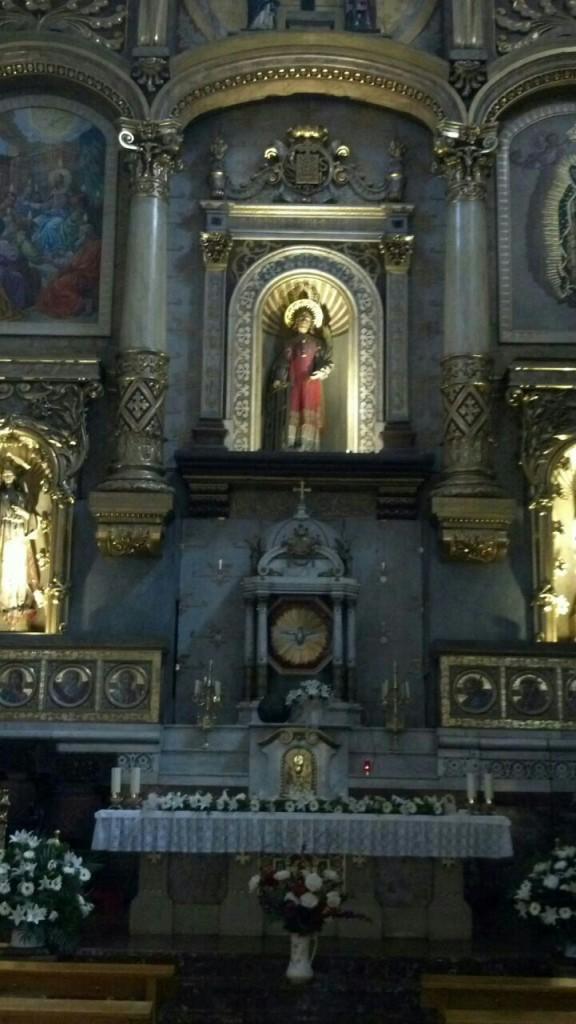Parroquia del Santo.