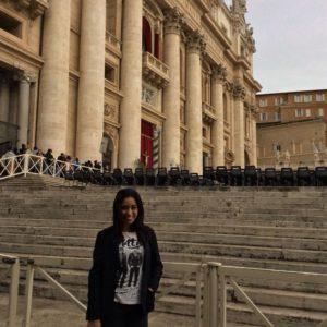 En Roma, Plaza San Marcos.