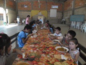son aproximadamente 150 niños los beneficiados.