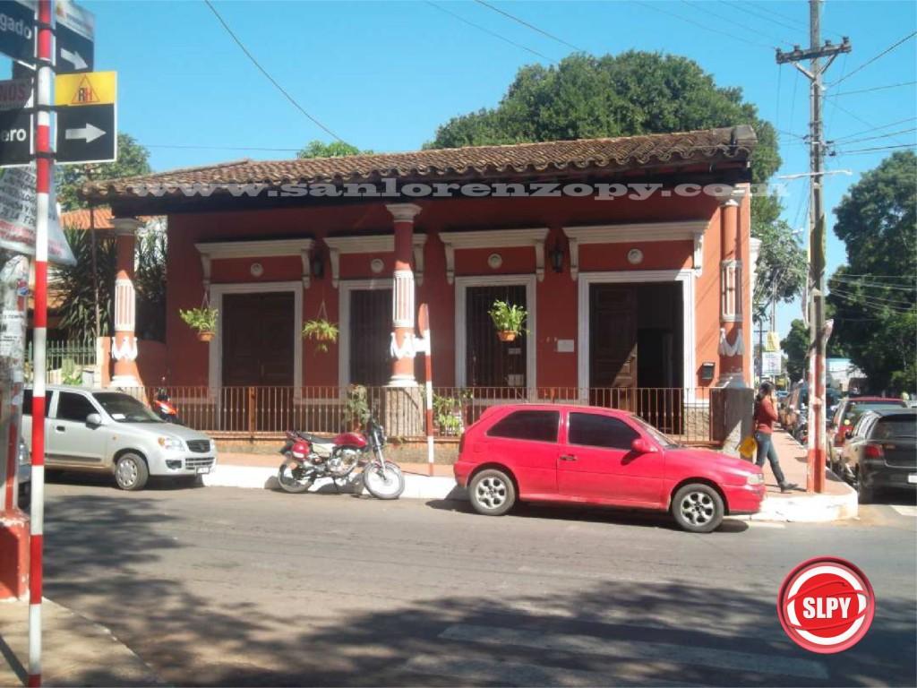 El local de Yvy Marane'y funciona en las calles Cnel Romero y Cnel Bogado de San Lorenzo