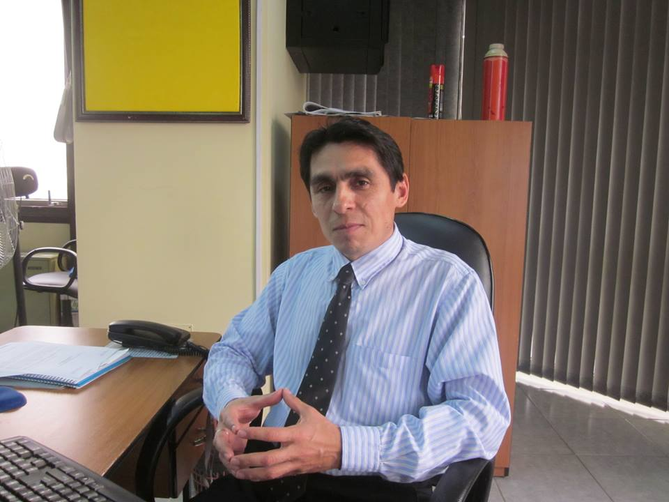 Lic. Miguel Verón, fundador y actual presidente de Yvy Marane'y. (Imagen facebook)