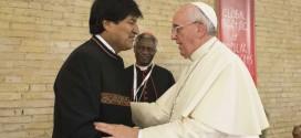 Según Evo Morales Francisco le dijo que visitará Bolivia, Paraguay y Ecuador en este año