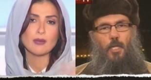 Periodista libanesa responde con firmeza a islamista, quien intentó hacerla callar.