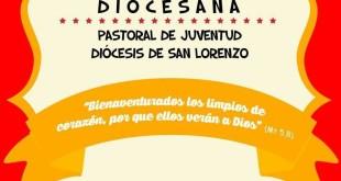 El evento JMJ será éste domingo debajo del tinglado municipal de San Lorenzo a partir de las 14:00 horas.
