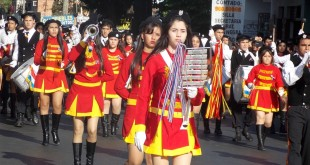 El desfile estudiantil homenaje a los héroes de la patria quedó suspendido. (Imagen archivo SLPY)