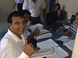 El Lic. Isaac Rojas, esta consciente según dijo el concejal Osvaldo Gómez.
