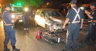 Los accidentes de tránsito son las principales causas de muerte. Foto: Última Hora (archivo).