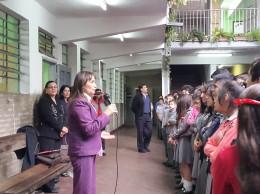 La nueva directora es la lic. Marta Cano, es sanlorenzana y su último cargo fue como directora de un colegio capitalino