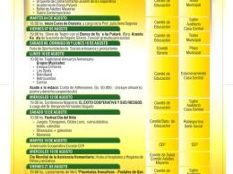 Programa general de festejos de aniversario de la Cooperativa San Lorenzo Ltda.