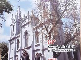 Tapa de publicación del novenario a San Lorenzo Mártir