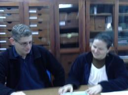 Científicos Maria Verá y Christian Vogt, del comité organizador