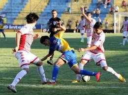 El buen juego del Rayadito, se reflejó en el 4-0 final.