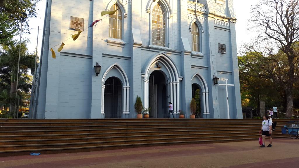 Esta semana ya se puede observar el frente del templo totalmente limpio
