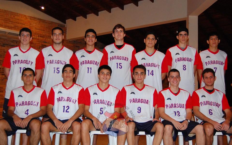 Selección paraguaya de basquetbol U17
