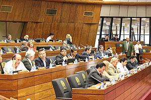 Sesión ordinaria de la Cámara de Diputados. (imagen: diputados.gov.py)