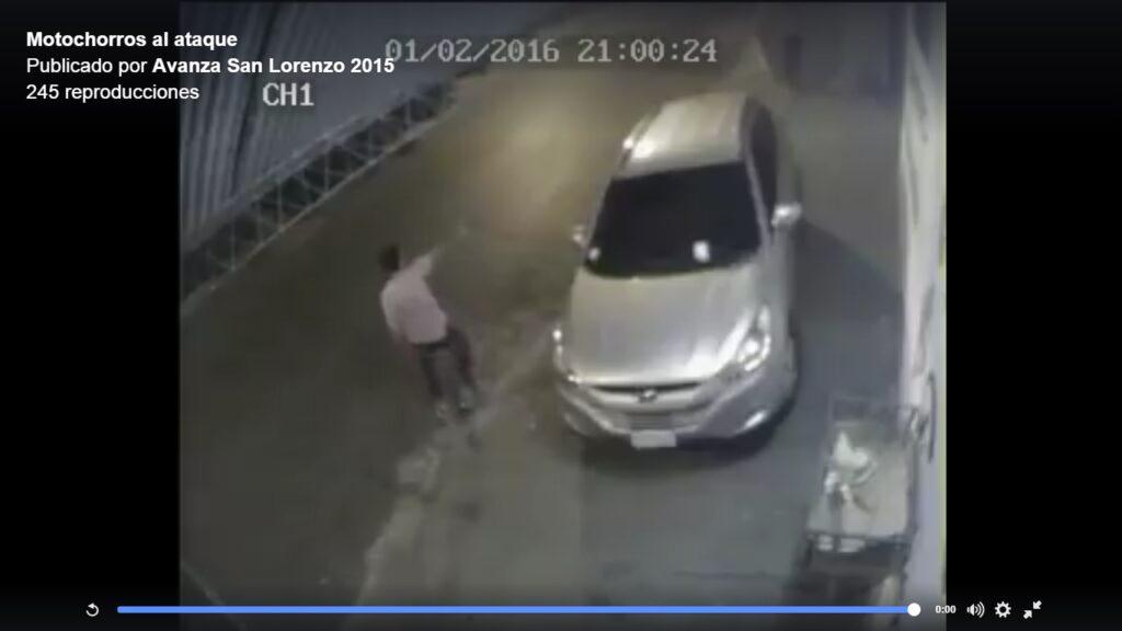 El intento de asalto fue frente al domicilio del edil Alfredo Lezcano.