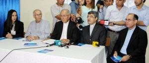 Conferencia realizada en el local de la CEP. (Crédito episcopal.org.py)