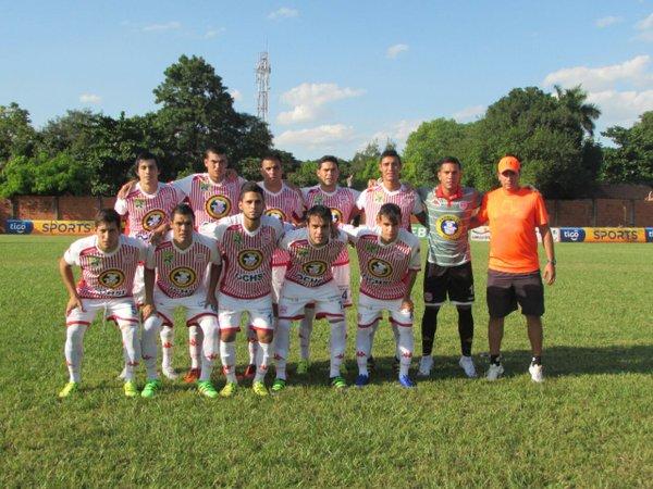 Equipo que entró desde el vamos contra Trinidense. (imagen crédito Twitter del club Sportivo San Lorenzo)