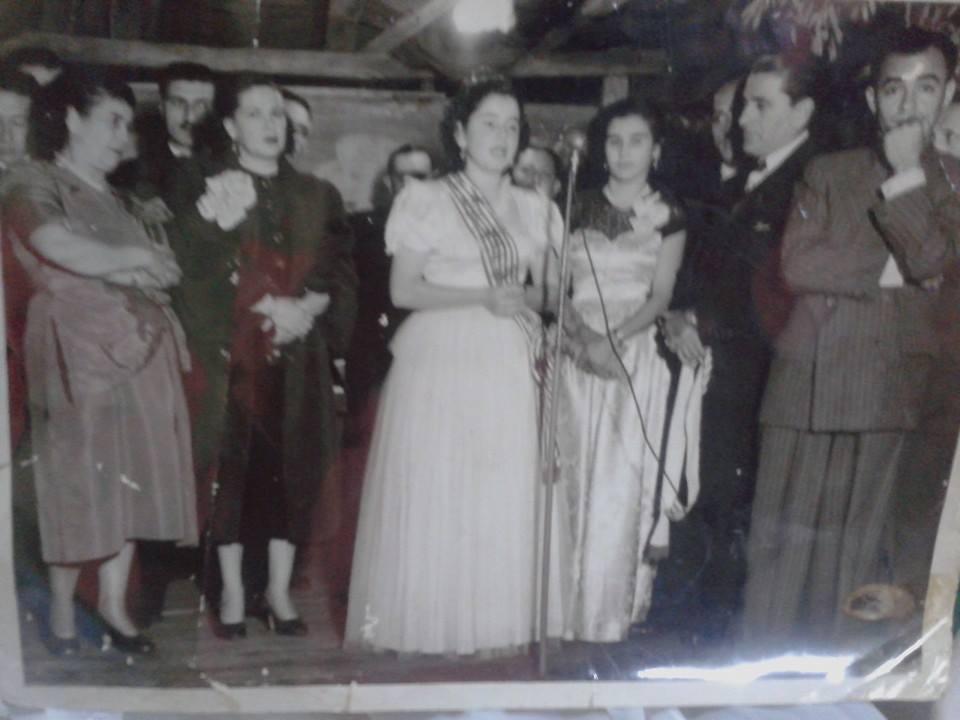 La primera Reina del Rayadito, Señorita Nélida Meyer Colombino