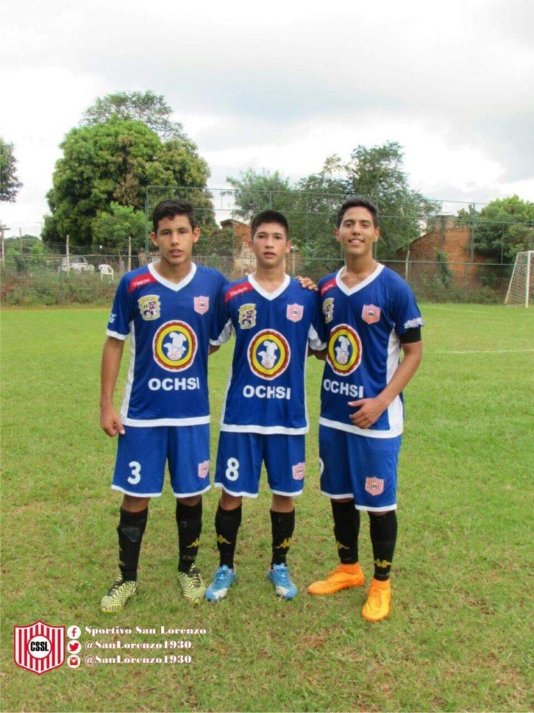 Camilo morinigo (3), Ulises Cruz (8) y Eduardo Aranda (9) con 4 goles Goleadores de la jornada de la sub 15