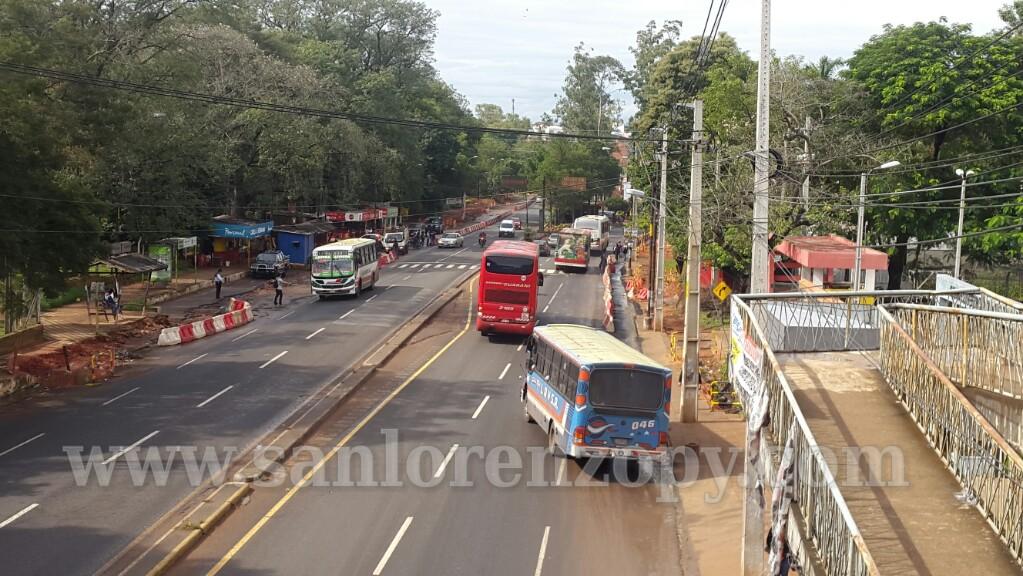 Ministro promete viaductos y túneles para San Lorenzo